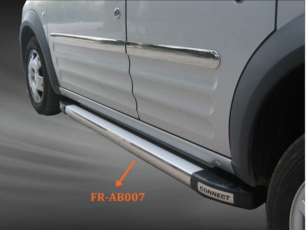Ford Connect Aluminyum Yan Basamak Gri